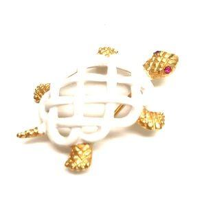 Jewelry - NAPIER TURTLE BROOCH